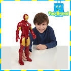 NEW MARVEL IRON MAN TITAN HERO SERIES - ACTION FIGURE HASBRO FREE POST 12 INCH