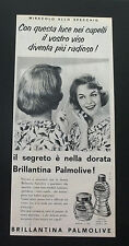 F432 - Advertising Pubblicità - 1960 - PALMOLIVE BRILLANTINA DORATA PER CAPELLI