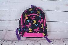 Girls Book Bag Backpack Durable Children's Kids School Supplies - Butterflies