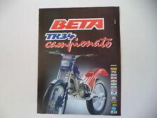 advertising Pubblicità 1988 MOTO BETA TR34 TR 34 CAMPIONATO