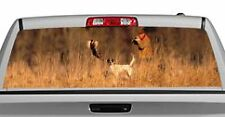 Truck Rear Window Decal Graphic [Hunting / Pheasant] 20x65in DC00403