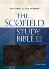 THE SCOFIELD STUDY BIBLE III [9780195275285] -  (HARDCOVER) NEW