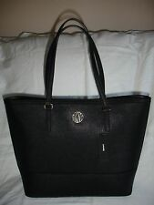 DKNY Bryant Park Saffiano Leather in Black