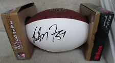 NFL Washington Redskins London Fletcher #59 Signed Authentic Duke Football New