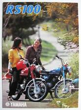 YAMAHA RS100 - Motorcycle Sales Brochure - 1974/75 - #64011-100300-00