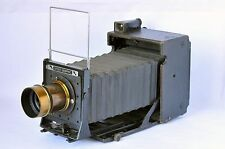 Graflex Speed Graphic 4X5 Camera with Darlot Paris brass lens Excellent Working