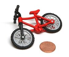Playmobil Miniature Dollhouse Adult Size Red Mountain Bike Bicycle