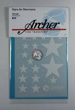 Archer 1/35 US Vehicle Stars for Sherman Tanks (White) (enough for 2) AR35022W