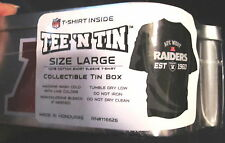 T-Shirt Tin, L NFL Oakland RAIDERS AFC American Football Conference Champs 2013