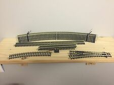 Hornby NEW starter oval of Track and siding inc points and buffer stop OO