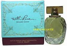 WITH LOVE 3.4/3.3OZ EDP NEW IN BOX SPRAY FOR WOMEN BY HILARY DUFF NEW IN  BOX