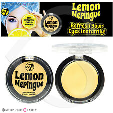 W7 LIMONE MERINGUE anti arrossamento PALPEBRA PRIMER 2G Eye Shadow base