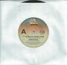 "DIONNE WARWICK - I'LL NEVER LOVE THIS WAY AGAIN - 7"" 45 RECORD 1979"
