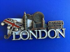 METALLIC FRIDGE MAGNETS LONDON SOUVENIR GIFT