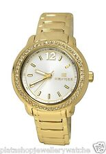 Tommy Hilfiger Laidies Callie 1781467 yellow Stainless Steel New Original