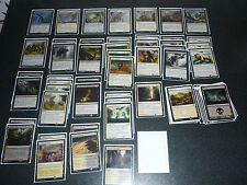 Magic the Gathering schwarz weißes Landfall Deck