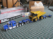 DCP- Carlile Trans, Kenworth 4 axle Tractor  Fountaine Lowboy Set & Load 1:64