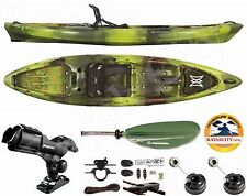Perception Pescador Pro 120 Kayak - Sport Fishing Package - Moss Camo, 2016