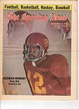 The Sporting News 11/13/1976 Football magazine, Ricky Bell, Southern California