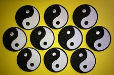 10 Lot Yin Yang Judo Jiu Jitsu Karate Tae Kwon Do Martial Arts Iron On Patches