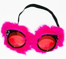 Black Pink Goggles Glasses Novelty Fancy Dress Xmas New Year Hen Stag Party