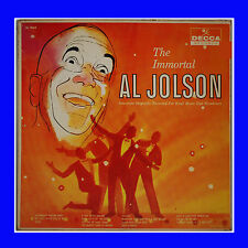The Immortal Al Jolson Record With Orchestra And Chorus By Decca Records Inc.