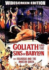 Goliath and the Sins of Babylon/Colossus and the Amazon Queen (DVD, 2007)