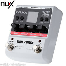 NUX Time Force Multifunction Digital Delay Guitar Effect Pedal True Bypass