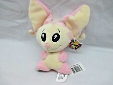 "WITH TAG 2004 Neopets 6"" Plush MIAMOUSE Pink & Cream Item #70081 Display Only"