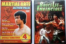 Bruce Lee DVD 2 Disc Set Includes 5 Movies Free Shipping