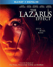 The Lazarus Effect (Blu-ray Disc, 2015) Sealed New Duplass Horror Extra Features