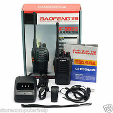 Baofeng BF-888s UHF 400-470 Mhz Ricetrasmettitore FM Walkie Talkie