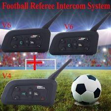 Wireless Blutooth Intercom BT Interphone Communicator for Football Referee Judge