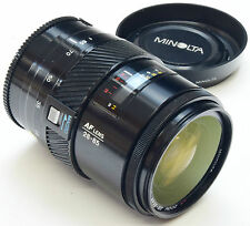 MINOLTA A 28-85mm 3.5-4.5+ Macro + Hood - (Sony) - All Metal Barrel Lens -