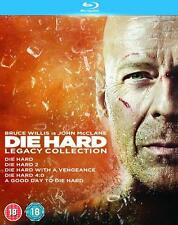 Die Hard 1 - 5 Legacy Collection Box Set - Blu-ray