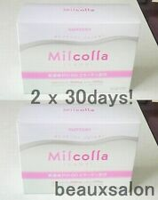 New! Lot2, Suntory Milcolla, Collagen powder 195g (30days) x2 (=total 60days)