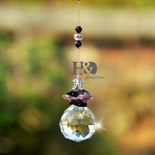 Crystal Suncatcher Feng Shui Prisms Pendant Rainbow Maker Pendulum Hanging Drop