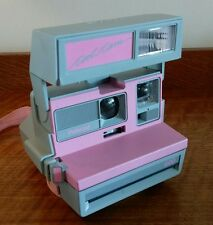 Polaroid Cool Cam 600 Pink / Grey With Matching Pink Bag - Very Cute Camera!
