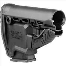 Mako GL-MAG FAB Defense Black Stock with Built-in Magazine Carrier & 10rd Mag