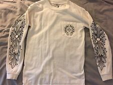 Chrome Hearts Las Vegas Small Long Sleeve Pocket t Shirt Authentic