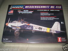 LINDBERG  MESSERSCHMITT ME-410 1:72 Scale Model Kit
