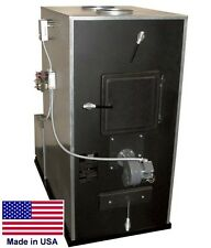 "Wood & Coal Burning Furnace - 125,000 BTU - 6"" Flue - 1100 CFM - COMMERCIAL DUTY"