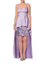 APART Taft Kleid 36 NEU UVP199€ Abendkleid Pailletten flieder Ball 66427 149