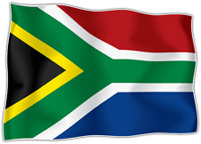 "South Africa Country Flag Car Bumper Window Mirror Sticker Decal 5""X4"""