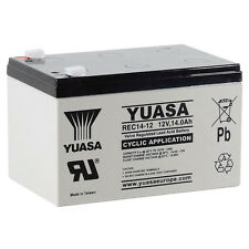 Yuasa REC14-12 Battery for Mobility Toy Car 12V 14Ah - Uprated 12V 12Ah YPC14-12