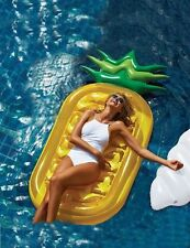 Swimming Pool Giant Inflatable Pineapple Float Toy Summer Swim Ring Water Raft