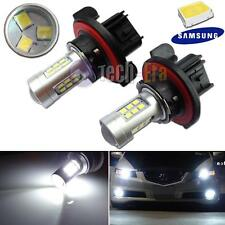 2pcs HID White High Power 9008 H13 Headlight Low Beam Headlamp Samsung LED Bulbs