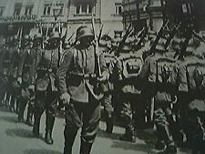 reprint picture ww1 - germans in kiev 1918