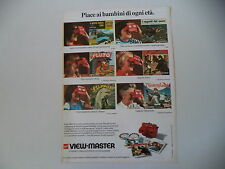 advertising Pubblicità 1973 GAF VIEWMASTER VIEW MASTER