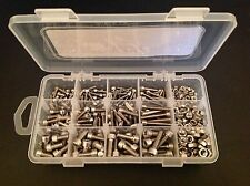 436 Assorted M3,M4 & M5 Socket Cap Bolts & Nuts A2 Stainless Steel - Kit C2
